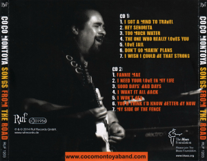 Coco Montoya - Songs From The Road - Back