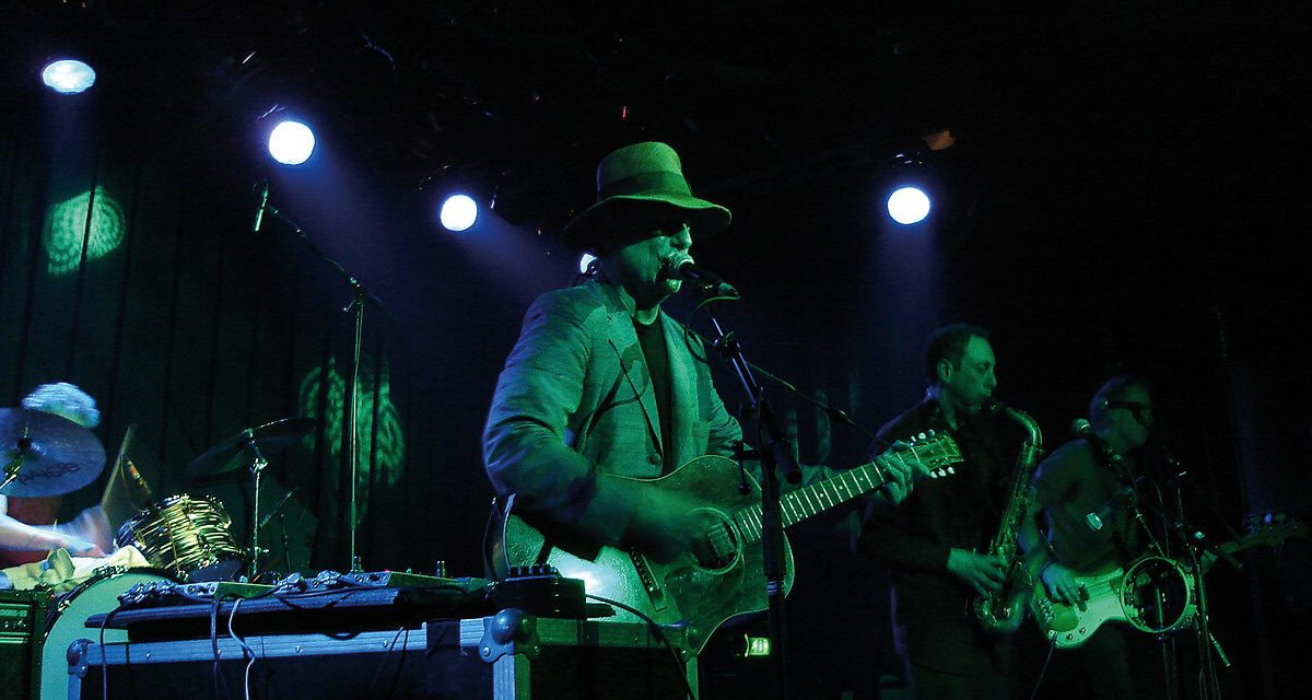 Gary Lucas – Live at the Jazz Cafe, London – 15/07/10