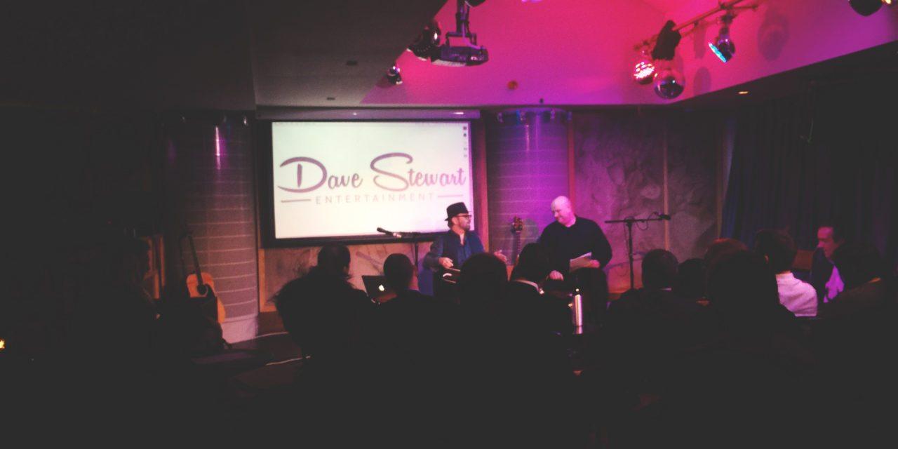 Dave Stewart – Hospital Club – Dec 2014