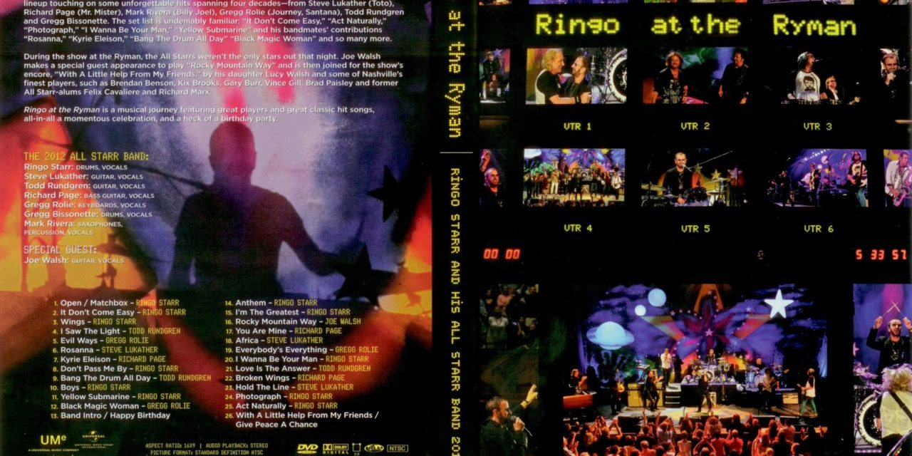 Ringo Starr and his All Starr Band (DVD)