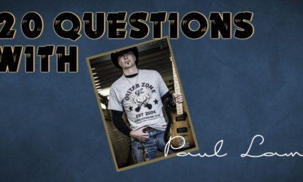 Paul Lamb- 20 Questions