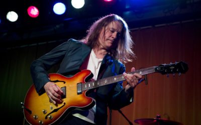 21-4-2013 Amsterdam, People's Place Robben Ford (guitar), Ricky Peterson (keyboards), Brian Allen (bass), Tony Moore (drums) and Andy Hunter (trombone). Copyright Paul Bergen