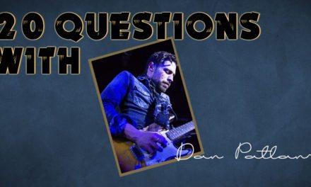 Dan Patlansky- 20 Questions