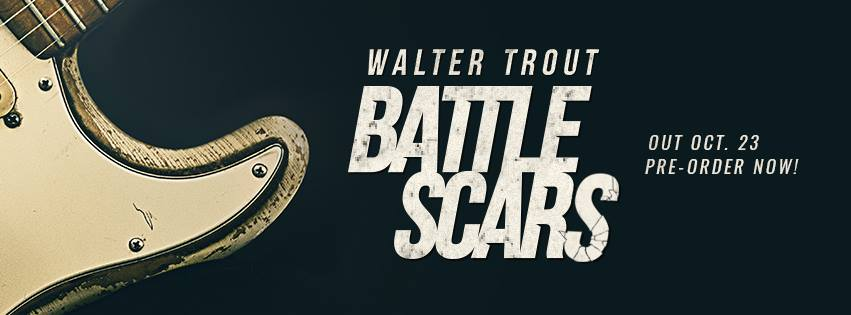 Walter Trout New Album and November 2015 UK Tour Announcement