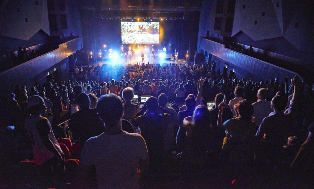 G Live Main Hall internal shot
