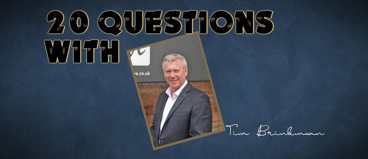 Tim Brinkman (Venue Director of G Live in Guildford, Surrey, UK) – 20 Questions