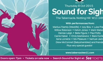 Soundcheque and RNIB present Sound for Sight Announcement