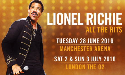 Lionel Richie Announces UK Dates as Part of 'All the Hits' 2016 World Tour