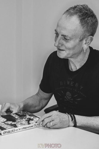 Phil Collen Talks to www.Justlistentothis.co.uk's Pete Sargeant about his new book 'Adrenalized'