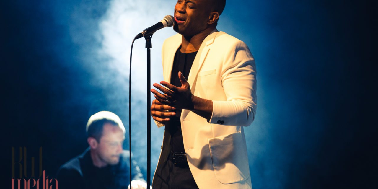 Shaun Escoffery, March 2016, Leicester Square Theatre, Leicester Square, London, United Kingdom