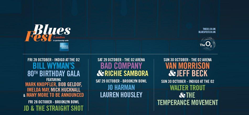 Bluesfest London 2016 Announces Lineup