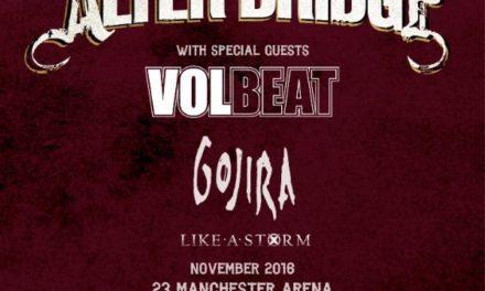 Alter Bridge Announce Winter 2016 UK Tour