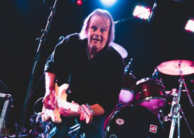 Walter Trout Plays to a crowded blues stage at Ramblin' Man Fair.
