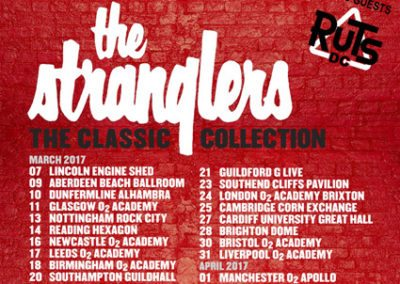 The Stranglers UK Tour Poster