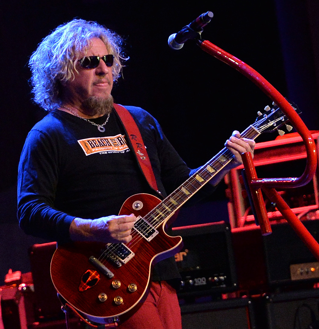 sammy hagar releases new live video just listen to this. Black Bedroom Furniture Sets. Home Design Ideas