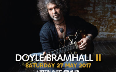 Doyle Bramhall II with special guest Jon Allen, May 2017, Under The Bridge, Stamford Bridge, London, United Kingdom