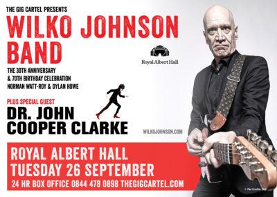 Wilko Johnson Updated Poster