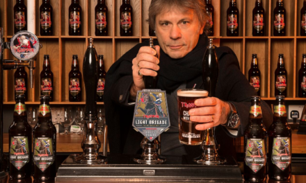 Iron Maiden Launch New 'Light Brigade' Beer