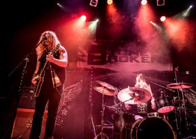 Jared James Nichols on vocals & guitar, Dennis Holm on drums