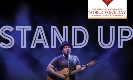 McGoozer Is Chosen As Anthem For World Voice Day 2018