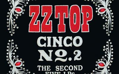 ZZ Top – Cinco No.2 The Second Five LPs (Vinyl)