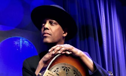 Eric Bibb Plus Special Guest Felicia Neilsen, May 2018, Savoy Theatre, London, United Kingdom