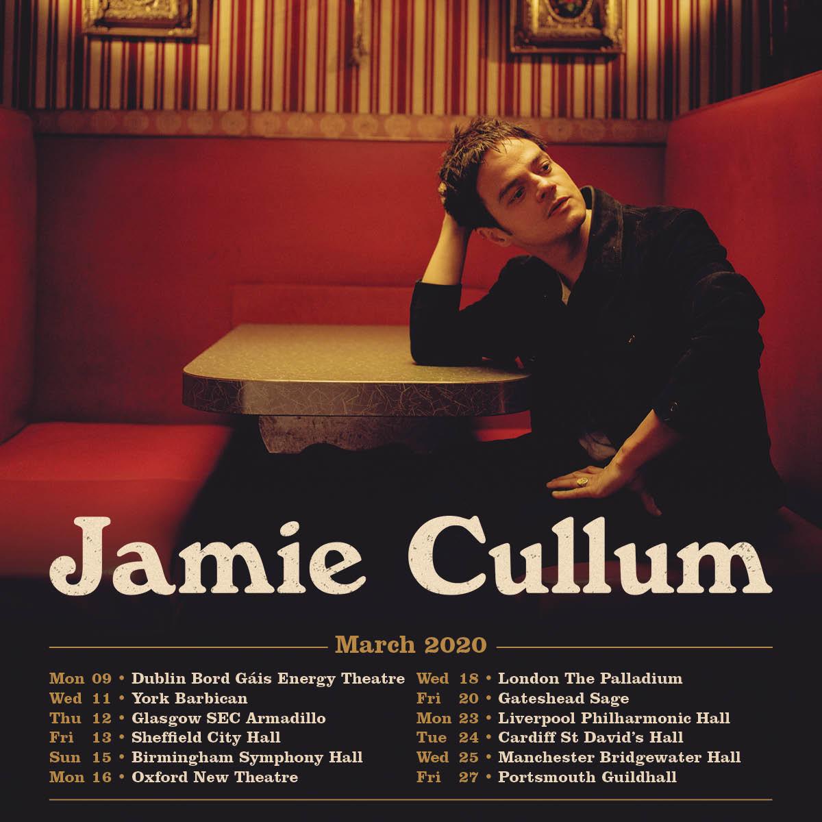 Jamie Cullum Tour 2020